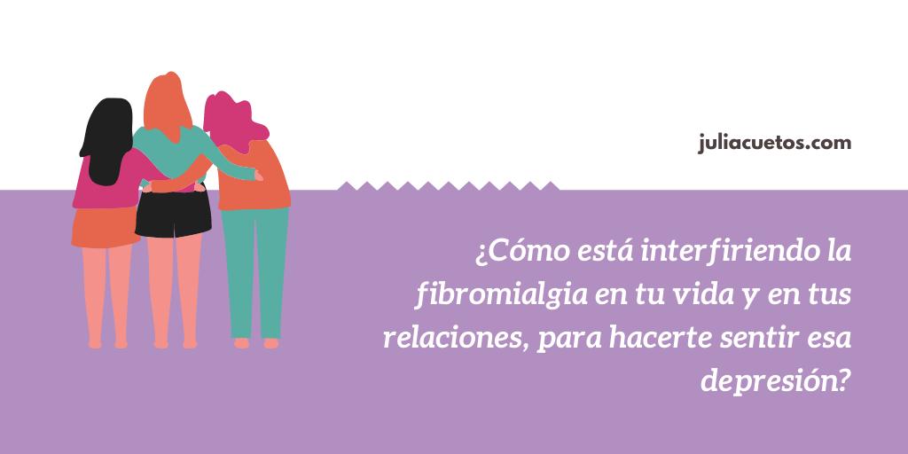 fibromialgia y depresión relaciones